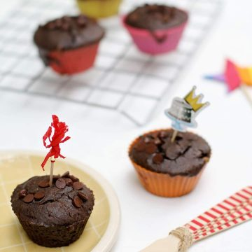 Muffins veganos gluten free